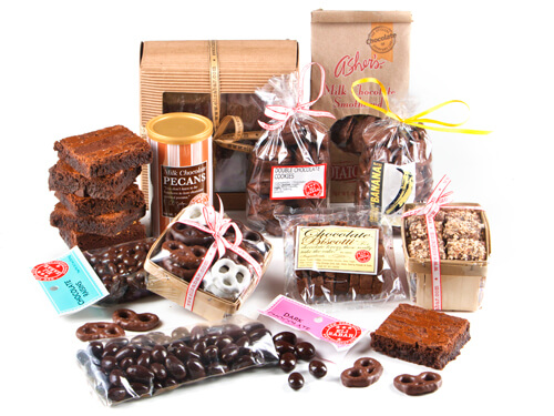Chocolate Addict's Gift Basket