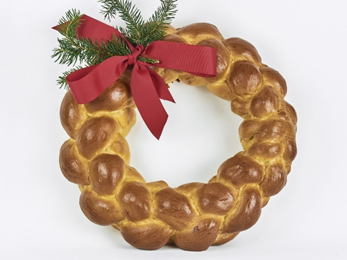 Brioche Holiday Wreath