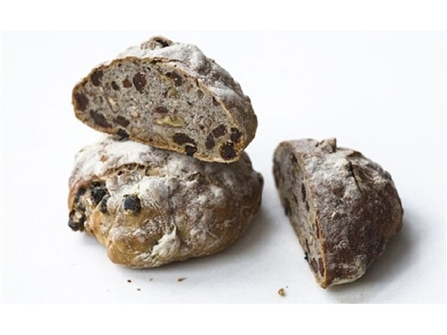 Kosher Raisin Nut Rounds Pair