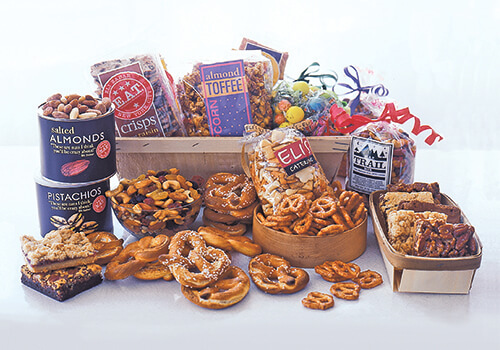 Gift baskets by eli zabar elizabar snack attack gift basket negle Images