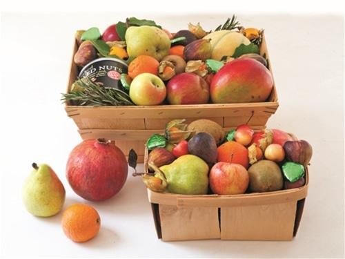 fruit gift basket eli zabar